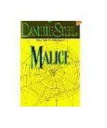 Danielle Steel Malice Suspense pb - $1.00