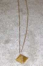 Vintage late '70's Goldtone Chain with Pendant - $5.95