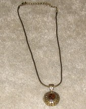 Vintage Costume JewelryGoldtone Necklace - $7.95