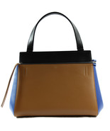 NWT CELINE Medium Edge Satchel Handbag, Multi-Color - $1,698.30