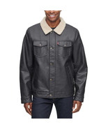 NEW Levi's Men's Faux Leather Jacket SELECT SIZE **FREE SHIPPING** - $59.99