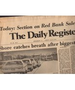 The Daily Register  Newspaper July 6, 1976 Shrewsbury, N.J. - $5.00