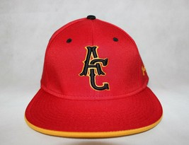 "Under Armour ""AC"" Red Gold  Men Baseball Cap Hat UA UA500 Series Flat Br... - $8.89"