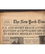The New York Times October 29, 1962 newspaper - $6.95