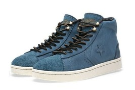 141256C Converse First String Pro Leather Mid Zip Blue/Sail/Black - $79.99