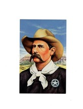 "Picture POSTCARD- ""Wyatt Earp"" - First Day Of ISSUE-LEGENDS Of The West BK7 - $2.91"