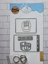 Camera Die Set. Elizabeth Craft Designs. Mini Album  image 4