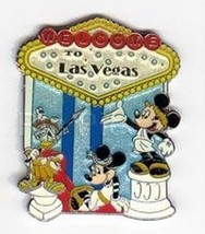 Welcome to Las Vegas Mickey Minnie Donald  Authentic Disney pin - $19.99