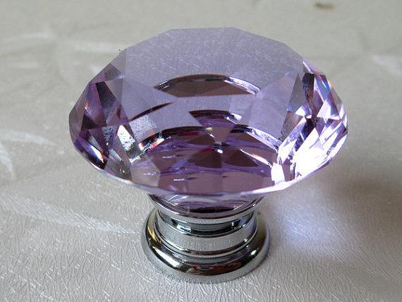 Large Glass Knobs Crystal Dresser Knob Drawer Pulls