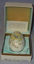 Vintage Noritake Porcelain 1976 Easter Egg Japan Bone China - $11.95