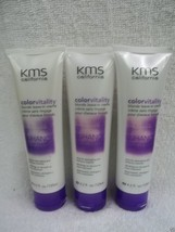 KMS California Color Vitality BLONDE LEAVE-IN Creme 4.2 fl oz ~ Lot of 3 Tubes!! - $17.71
