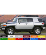 "FJ Cruiser Hood Decals Sticker Pair (2) 3"" x 30"" Pick Color Buy Now! - $12.94"