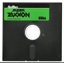 """Super Zaxxon Commodore 64 5.25"""" Floppy Disk Game 1984 by Sega Hes Ware - $18.76"""