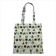 GUCCI Authentic Dog Pattern Animal Tote Bag Blue Alessandro Michele New - $289.99