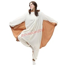 Flying Squirrel Adult Kigurumi Pajamas Animal Cosplay Costume Onesie Sle... - $28.99