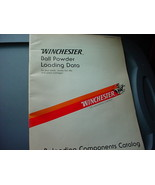 VINTAGE WINCHESTER RELOADING COMPONENTS CATALOG 1984 8th EDITION FREE USA SHIP - $9.94