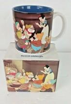 Discontinued Snow White and The Seven Dwarfs Walt Disney Coffee Mug NIB Japan - $49.49