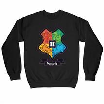 Harry Potter Junior Hogwarts Crest Children's Unisex Black Sweatshirt - $25.35