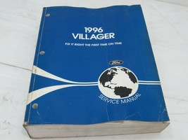 1996 Ford Mercury Villager Product Service Repair Manual - $19.79