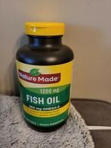 NATURE MADE FISH OIL 1200mg 360mg Omega-3 230 SOFTGELS exp 08/2022 - $9.90