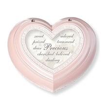 Roman Precious Heart Music Box Pink - $52.38