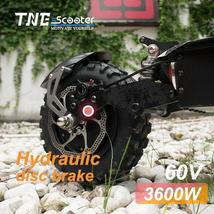 Electric Scooter TNE Prometheus 3600w 60v 25ah Lithium Battery Hydraulic Shocks  image 3