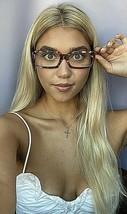 New Vintage ALAIN MIKLI AL 10280202 57mm Red Marble Eyeglasses Frame Fra... - $349.99