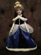 "Disney Cinderella 17"" Porcelin Doll - $24.75"