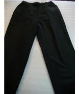WOMEN SAVANNAH BLACK CAREER PANTS SIZE 10 - $7.99