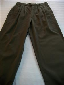 Primary image for WOMEN J.RIGGINS ARMY GREEN CAREER CASUAL PANTS M MEDIUM