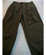 WOMEN J.RIGGINS ARMY GREEN CAREER CASUAL PANTS M MEDIUM - $15.60
