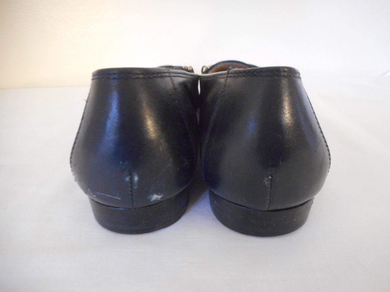 Salvatore Ferragamo Boutique Sz 7.5 4 A Blue Womens Loafer Shoes