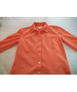 WOMEN CHARTER CLUB PEACH CAREER SHIRT LNG SLV SZ 4 NWT - $8.99