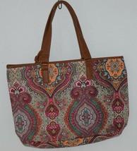 Howards Product Number 68985 Large Shoulder Bag Multi Color Paisley image 2