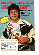 Paula Abdul Danny Ponce teen magazine pinup clipping holding a Teen Set magazine