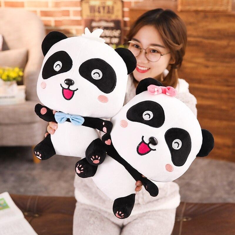 BabyBus 22/35/50cm Cute Panda Plush Toys Hobbies Cartoon Animal Stuffed Toy Doll image 2