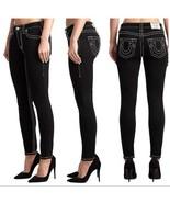 True Religion Jennie Big T Mid Rise Curvy Skinny Fit Jeans Size 24 MSRP:... - $84.14