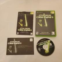 Star Wars: Obi-Wan (Microsoft Xbox, 2001) / CIB  - $11.87