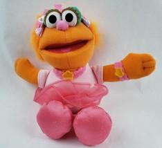 "Fisher-Price Sesame Street Zoe 8"" Plush Orange Monster Ballerina Pink Tu... - $19.35"
