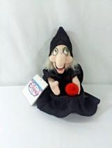 """Disney 8"""" Witch Mini Bean Bag Beanie NWT from Snow White Poison Apple - $12.86"""