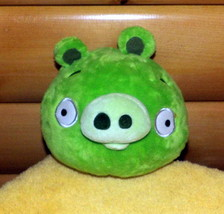 "Angry Birds Rovio Green Pig 8"" Plush with Sound Ready to Travel - $6.39"