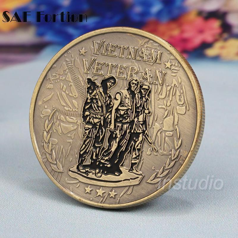 Primary image for Vietnam Veterans Coins Military Commemorative Coin Souvenir Gifts Collectibles