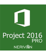 Microsoft Project 2016 Professional MS Pro Original Product Key Full Ver... - $27.99