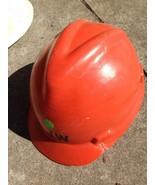 Vintage Arancione 1970s Cappello Rigido da V-Gard Msa per Testa Taglia 6... - $35.90