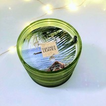 ** Bath & Body Works** Coconut Leaves 3-Wick Candle | Tropical | Vacation | Fun image 1