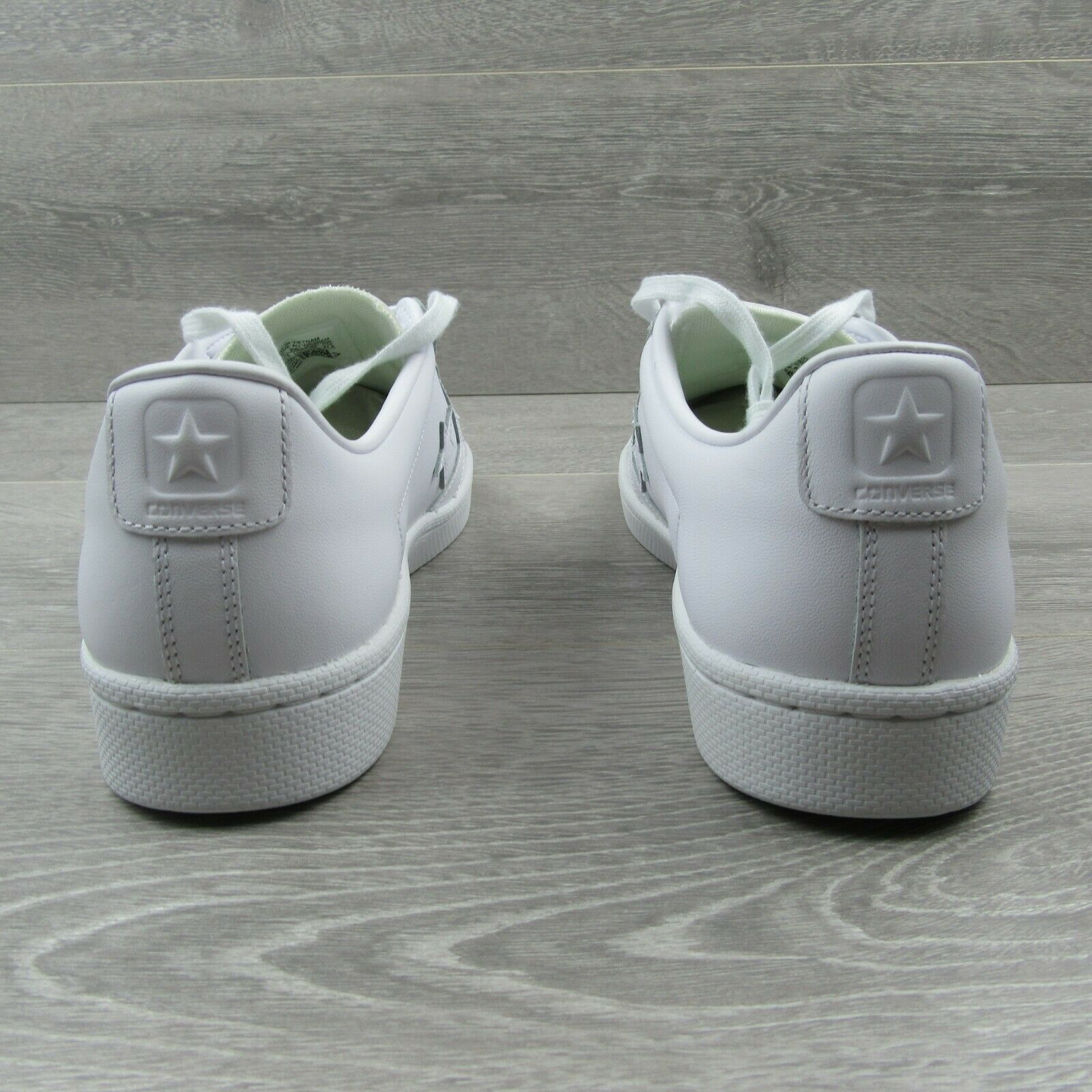Converse Pro Leather Ox Low Triple White Shoes Size 11 Mens 155319C New image 7