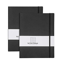 RETTACY Ruled Notebook/Journal 2 Pack - B5 Soft Cover Notebook Journal w... - $29.82