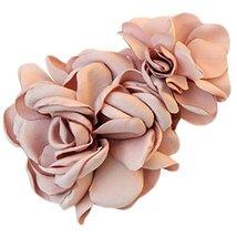 Elegant Simulation Flower Hair Barrette Side Hair Clips,Pink