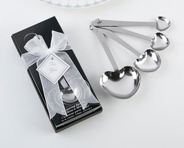 inch Love Beyond Measure inch   Heart Shaped Measuring Spoons in Gift Box  - $5.99