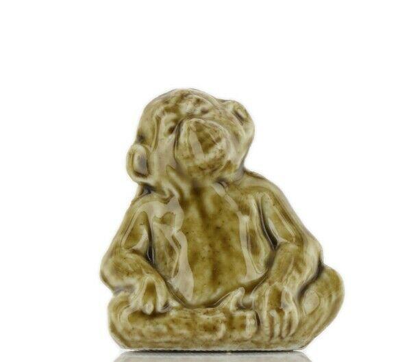 Whimsies Wade England Miniature American Series Chimpanzee Monkey